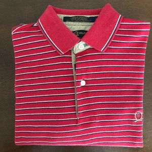 Tommy Hilfiger Classic Red Polo Size S